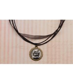 Vintage ogrlica sa slikom vašeg ljubimca