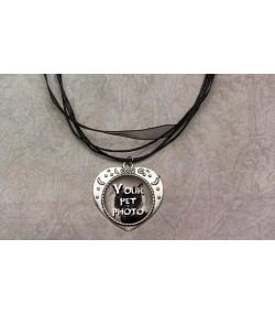 Ogrlica u obliku srca sa slikom vašeg ljubimca